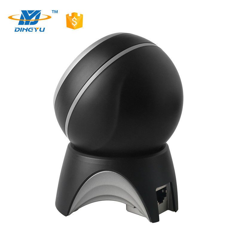 High Speed MINI Round design black and silk Omni Directional Supermarket 2D Barcode Scanner DP8500
